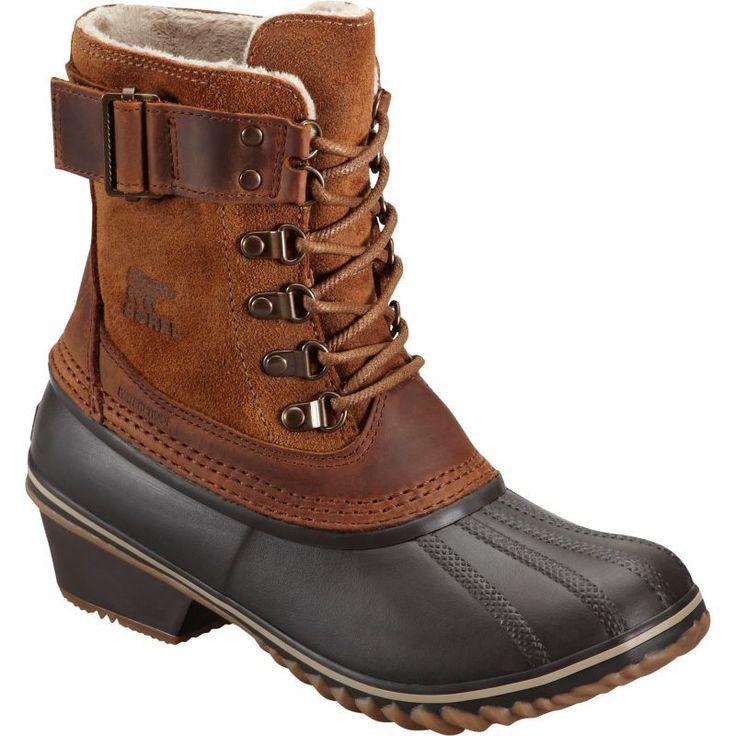 Sorel Women's Winter Fancy Lace II 100g Waterproof Winter Boots, Size: 8.5, Brown