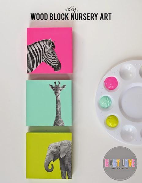 DIY: Cómo hacer cuadros para habitaciones infantiles   Decorar tu casa es facilisimo.com