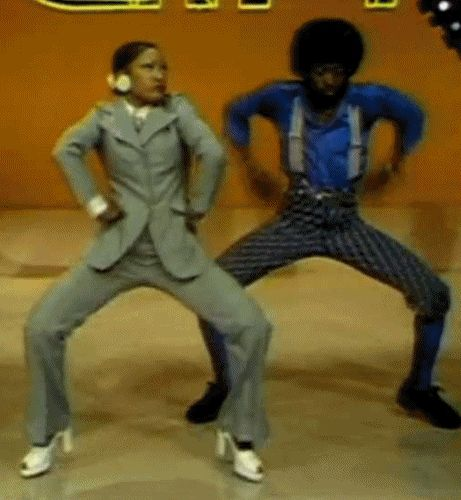 "What could be better than this? | 18 Joyful ""Soul Train"" Dancing GIFs That Will Make Your Day"