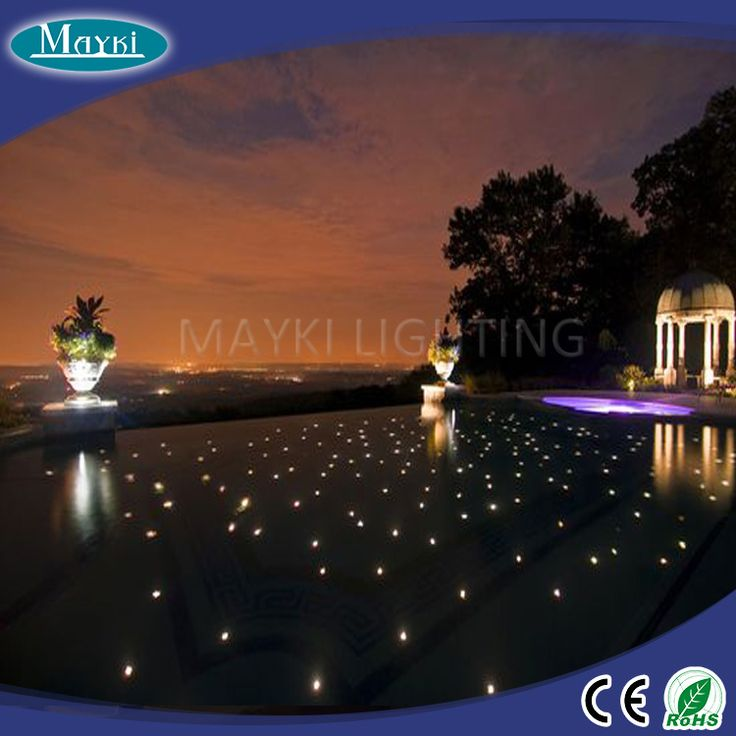 mayki lighting fiber optic star light led light pool with waterproof. Black Bedroom Furniture Sets. Home Design Ideas