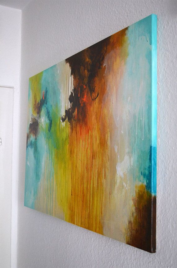 Original abstract painting abstract art canvas by
