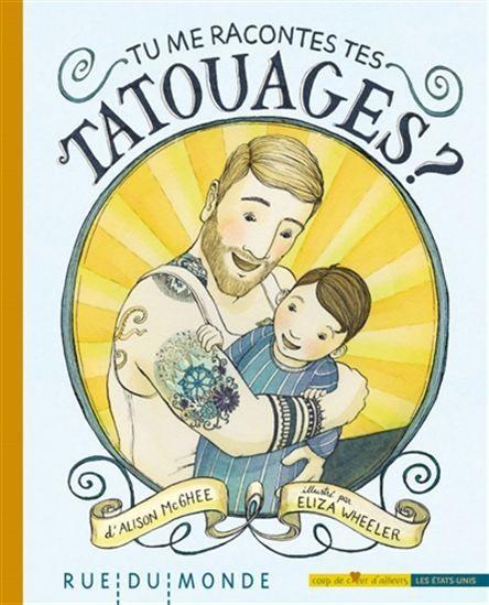 Un père raconte à son fils l'origine de ses tatouages, chacun étant lié à un événement marquant, à un souvenir d'enfance, à un amour, etc. Jusqu'au plus récent : la date de naissance du petit garçon.