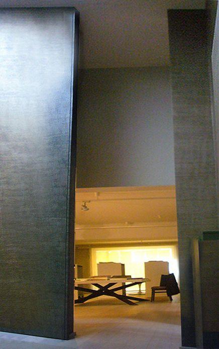 DRAPPO OFFICINA TESSILE -01 / Progetto-Concept della sede di Calderara d. R. Bologna 2005 design by LAURO GHEDINI & PARTNERS architecture & design studio