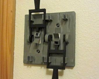 Plaque d'interrupteur d'éclairage de style par 3DPrintingEgg