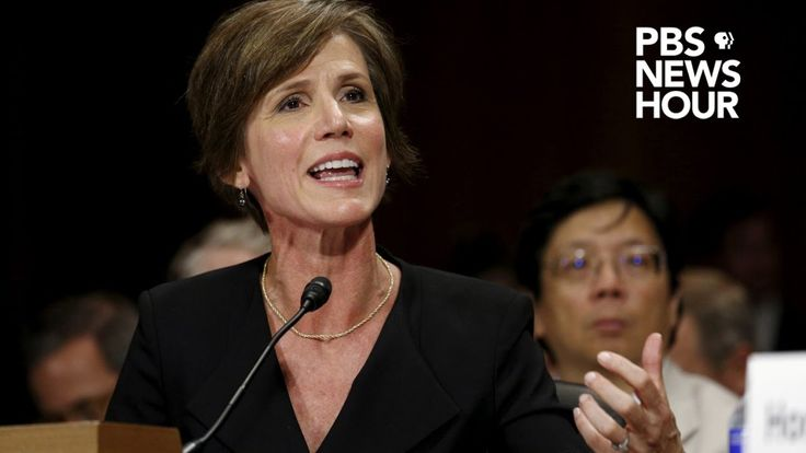Live: Sally Yates testifies before Senate subcommittee investigating Rus...