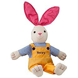 Personalized Springtime Boy Easter Bunny
