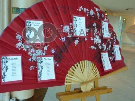 Préparatifs de notre mariage : Thème Japon - Décorations de table : Album photo - aufeminin.com : Album photo - aufeminin.com - aufeminin