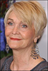 Sheila Hancock who played Blanche, Dowager Duchess of Trevenick