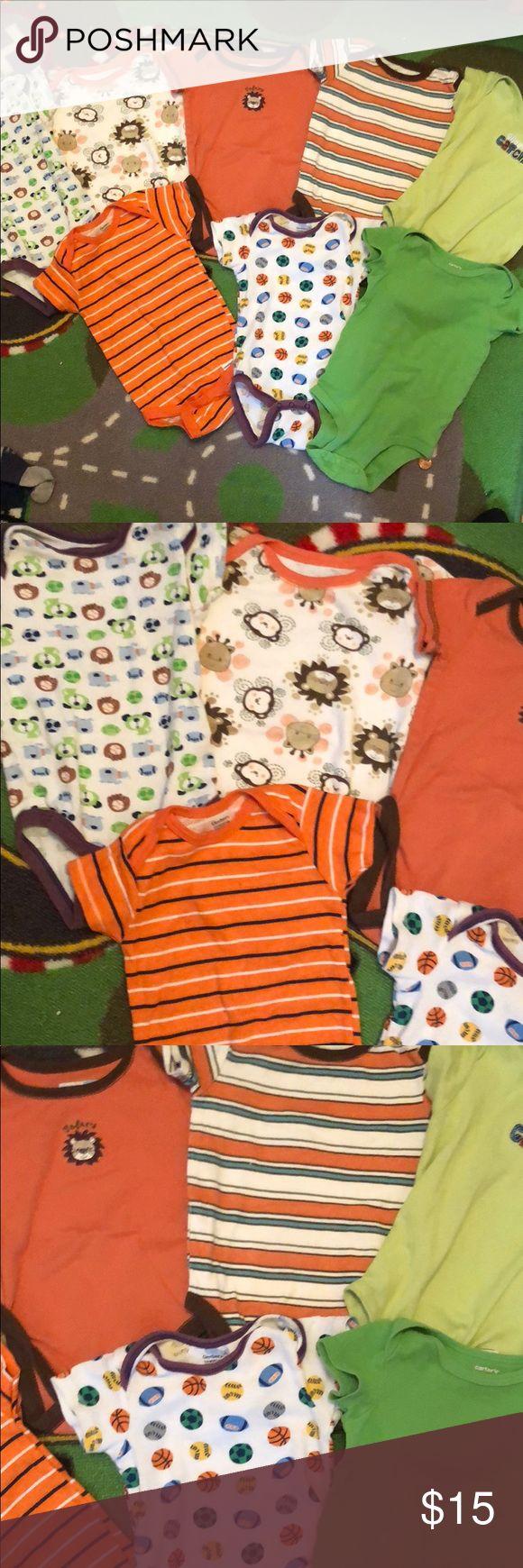 Huge bundle of nine month baby onesies Huge bundle of nine month baby onesies One Pieces Bodysuits