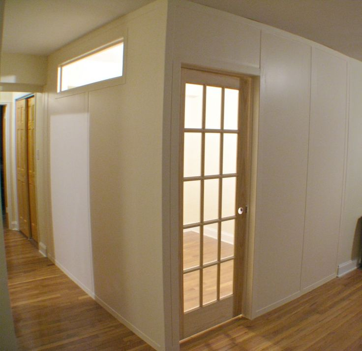 New Temporary Walls for Basement