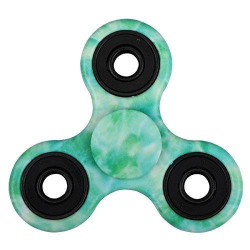 EVERMARKET New Style Premium Tri-Spinner Fidget Toy With Premium Hybrid Ceramic BearingJade