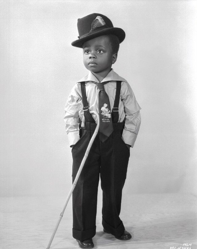 "Billie ""Buckwheat"" Thomas (The Little Rascals) #BlackandWhite #photography #BlackAndWhitePhotos"