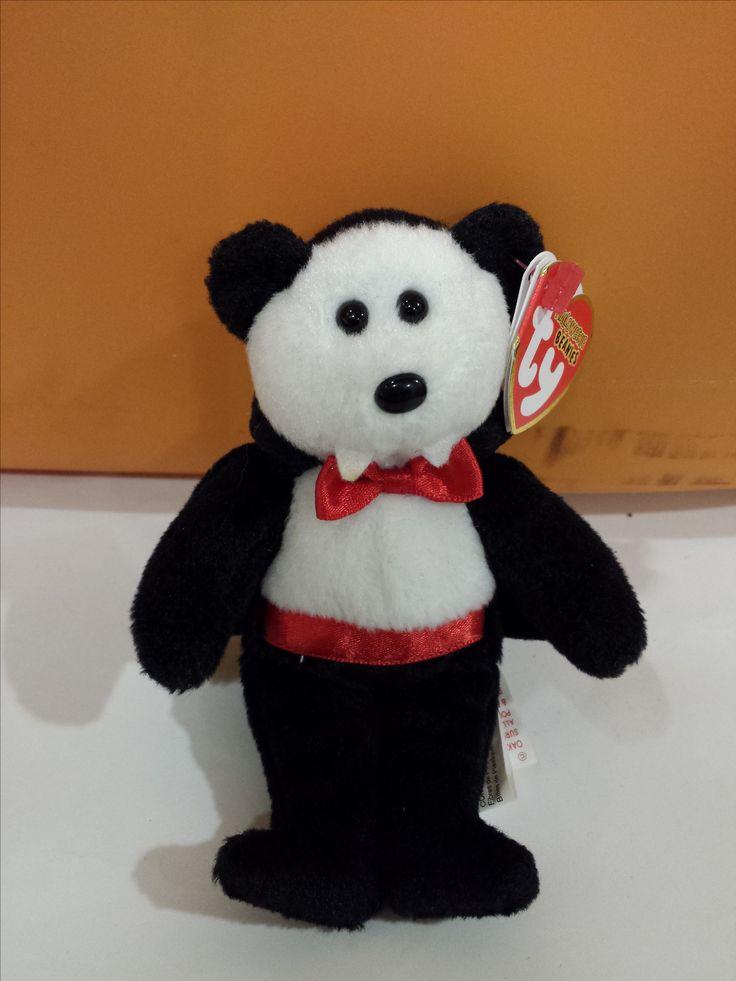 Halloween Vampire Bear TY