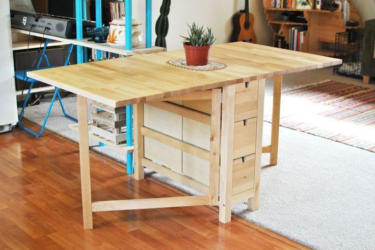 Platzsparender Esstisch Von Ikea Platzsparender Esstisch