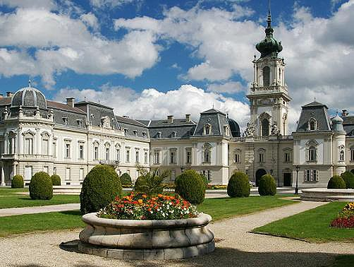 Festetics Castle in Keszthely. I've been to numerous summer concerts at this castle!  So fun!