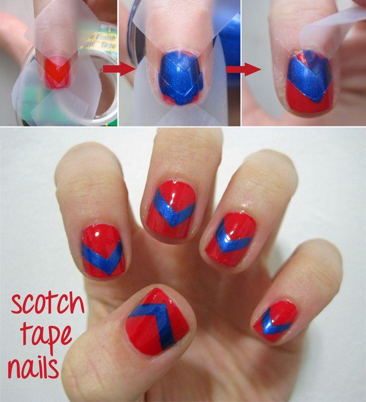Sarabeautycorner Nail Art: Best 25+ Scotch Tape Nails Ideas On Pinterest