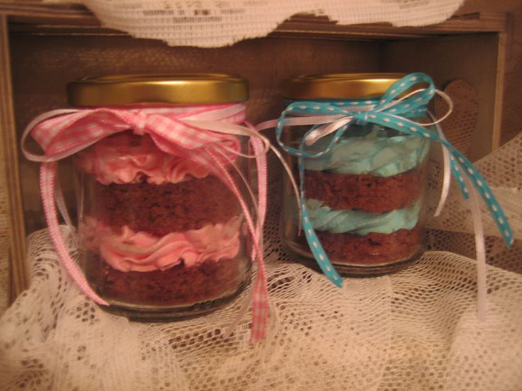 Γλυκάκι Βάπτισης...Cupcakes in a jar...
