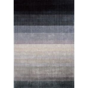 Linie Design - Combination Viskosmatta, Dark Blue