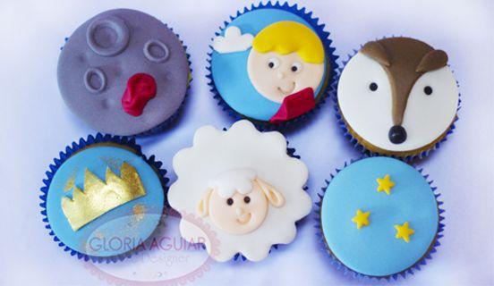 cupcake Pequeno Príncipe