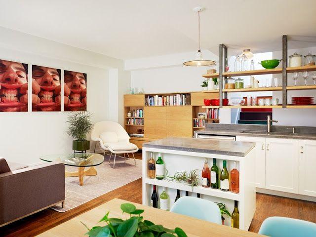 Virlova Interiorismo: [Interior] Ingeniosa y colorida actualización de vivienda en Brooklyn