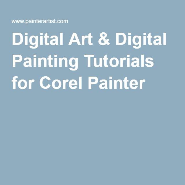 Digital Art & Digital Painting Tutorials for Corel Painter