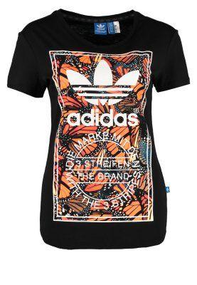 Camiseta print - negro