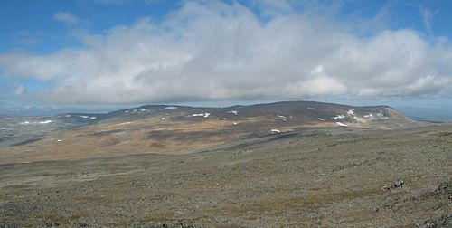 Halti – mountain in Finland, Lapland