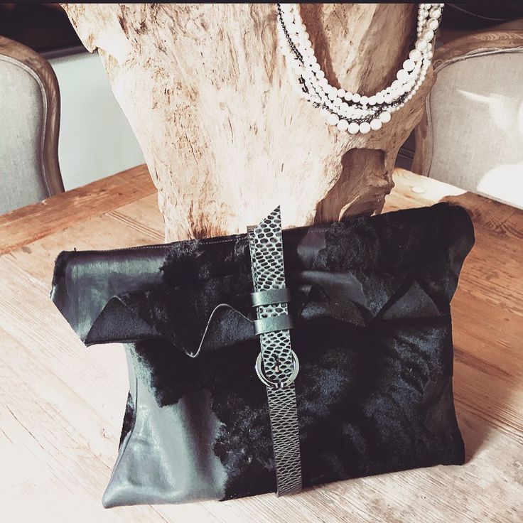 Leather Clutch N.14