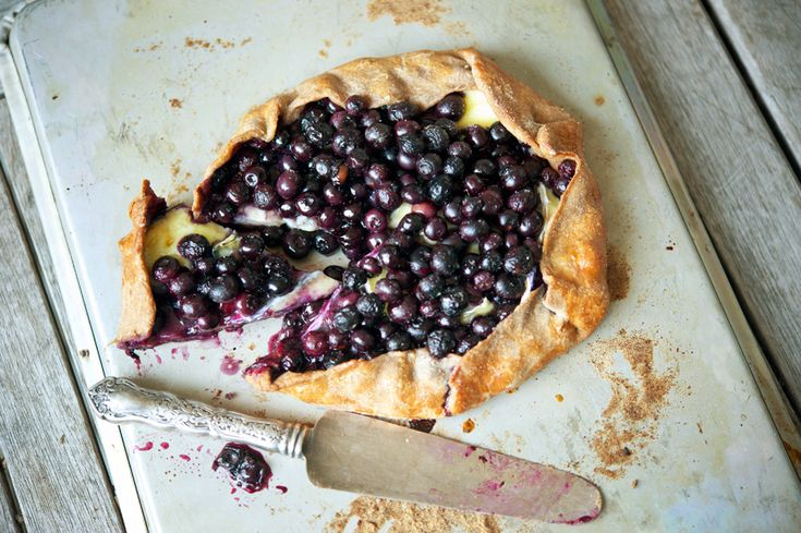 Blueberry Brie Galette (We wouldn't run from a brunch that served up this tasty pastry)  -  From Tasty Kitchen