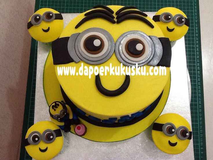 Cake and Cupcakes Minions