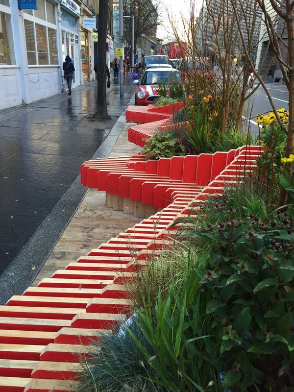 Parklet tooley st london click image to tweet and visit for Red landscape architects