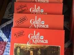 Colección de discos en vinilo