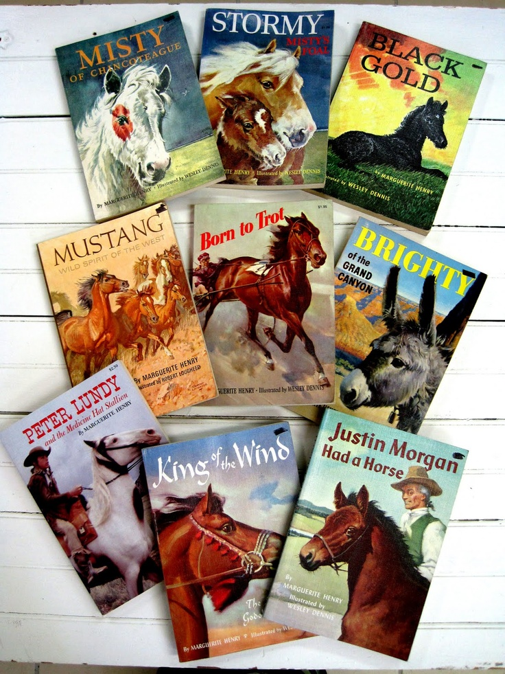 The Green Hand: Marguerite Henry's horse books