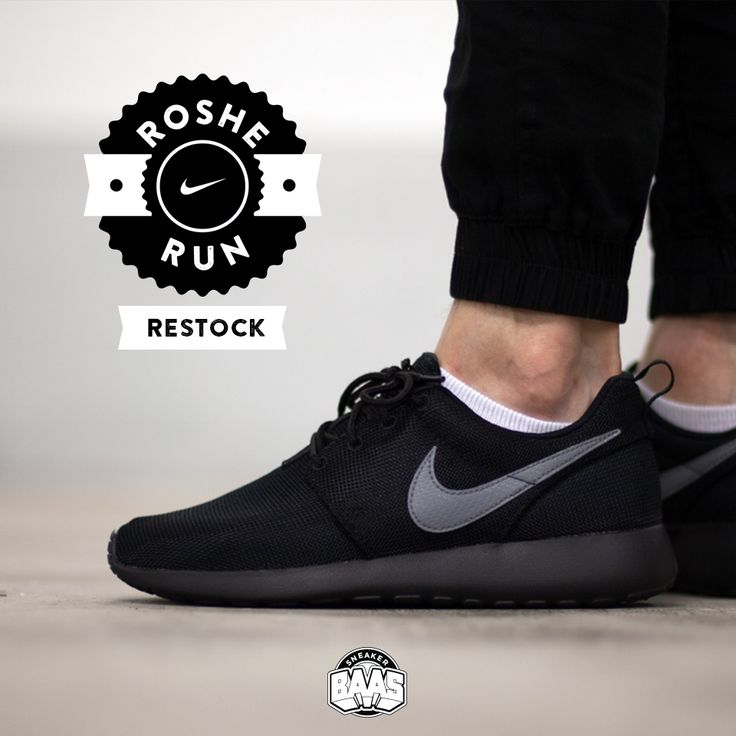 #nike #rosherun #nikerosherun #rosheone #rosherunblack #sneakerbaas #baasbovenbaas  Nike Roshe Run - RESTOCK - Priced at 64,95 Euro in GS sizes!  For more info about your order please send an e-mail to webshop #sneakerbaas.com!