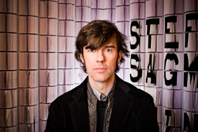 Stefan Sagmeister gave two talks and we hung on to every word