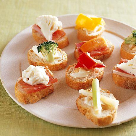 ピクルスのカナッペ | 飛田和緒さんのおつまみの料理レシピ | プロの簡単料理レシピはレタスクラブニュース