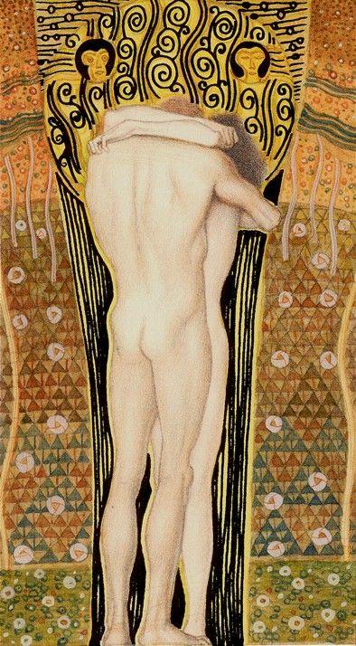 The Sun - Golden Tarot of Klimt