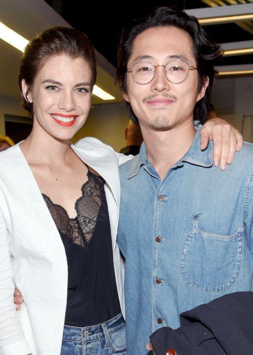 Lauren Cohan & Steven Yeun, NYCC October 8, 2016