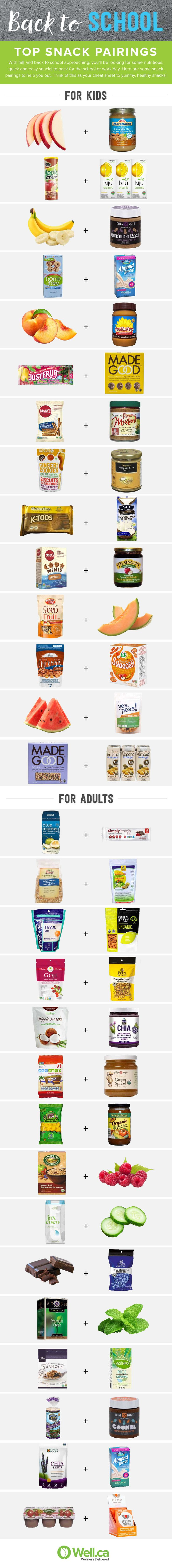 Top Snack Pairings for Fall - for Kids and Adults!@