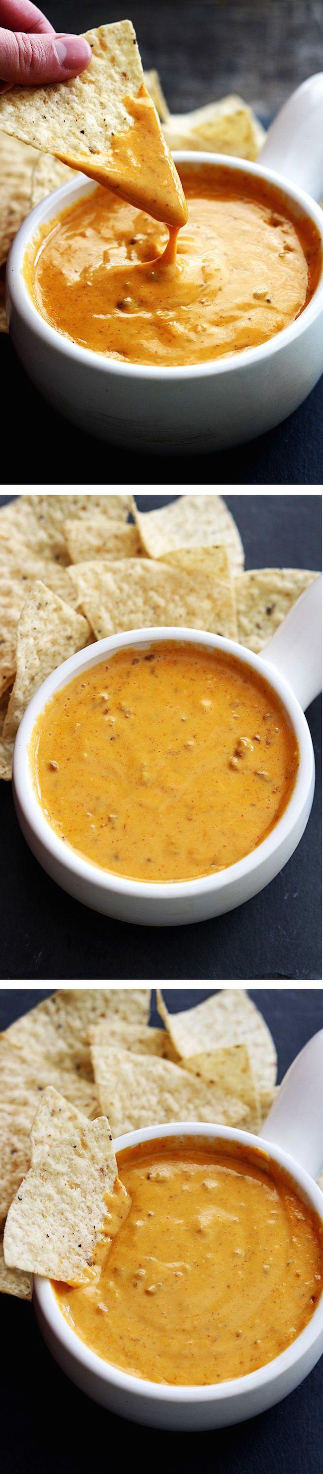 Copycat Chili's Queso Recipe (made in a crockpot)