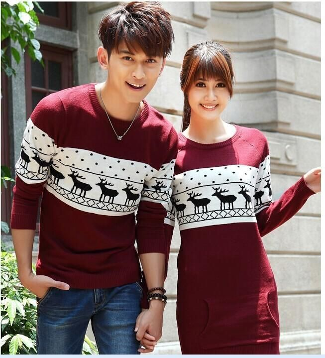 Christmas sweater for men and women couples matching christmas