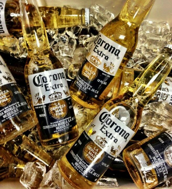 #Coronaextra on ice. #corona #theplacetobe