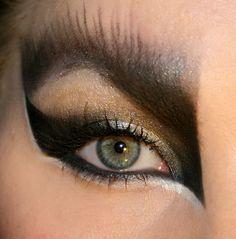 owl eye makeup - Google Search