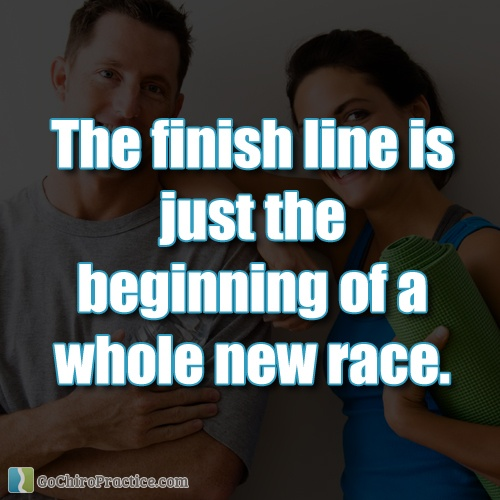 Inspirational Quotes About Positive: Finish Line Motivational Quotes. QuotesGram