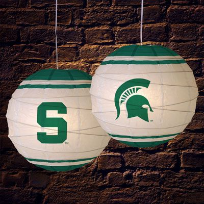 Michigan State Spartans NCAA Rice Paper Lamp | Flickr - Photo Sharing!
