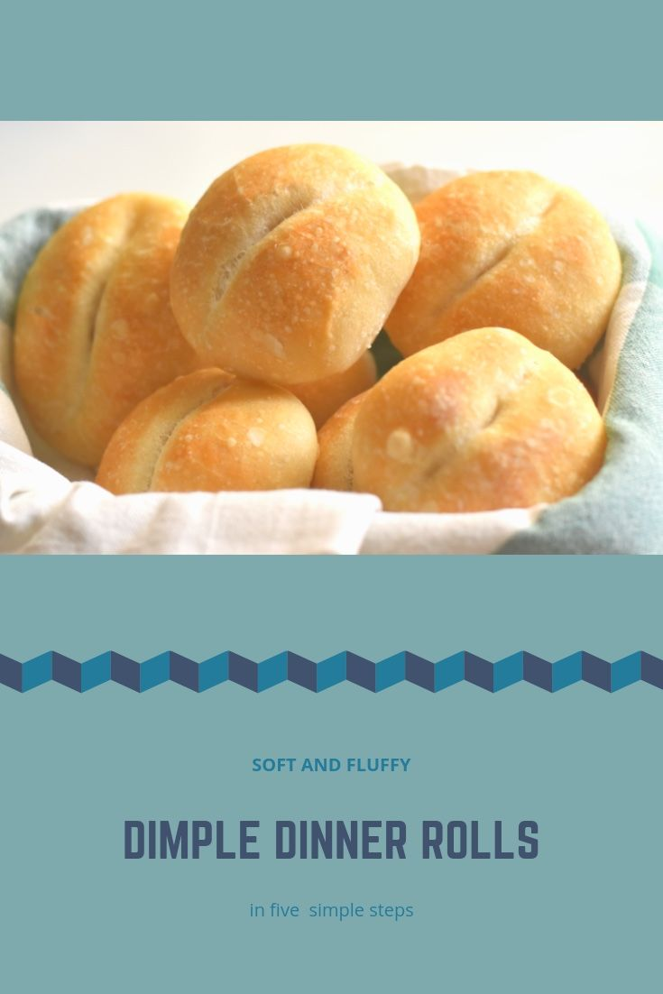 Easy No Knead Soft Dimple Dinner Rolls Dinner Rolls Easy Yeast