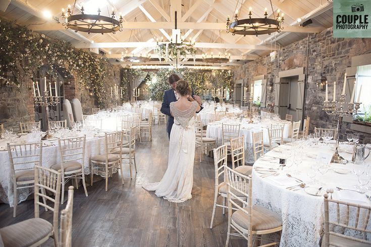 Indoor in Ballymagarvey. Weddings at Ballymagarvey Village photographed by Couple Photography.