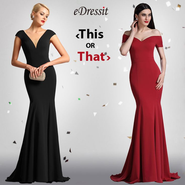 Simple Design Mermaid Prom  Wear Evening Gown