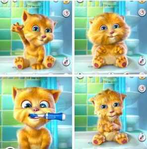 We are having SO MUCH FUN with the Talking Ginger app!