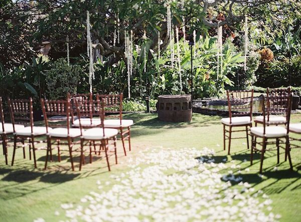 Plantation Gardens Wedding Kauai Modern Weddings Hawaii Destination